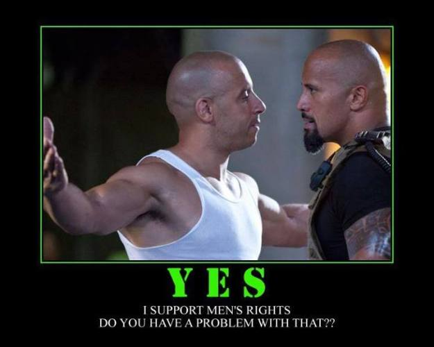 1a Yes I support Mens right