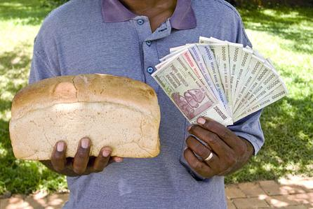 6 Buy a Loaf of Bread for Trillion Dollar in Zimbawe