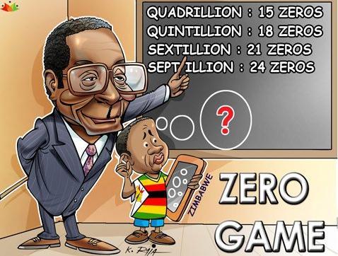 7 Zero game in UK Zimbawe and USA