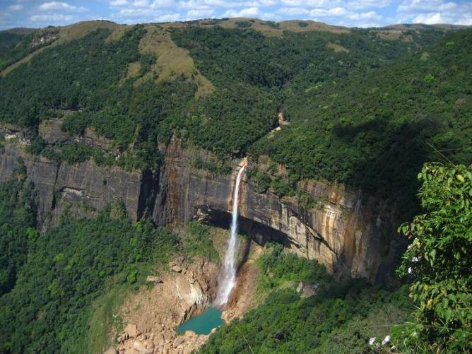 33d Meghalaya Waterfall