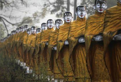33m Standing in Burma