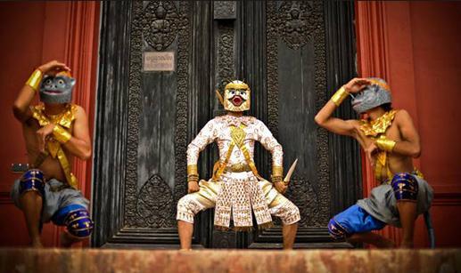 34o Cambodian mask