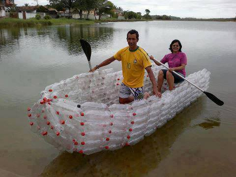 1 Another plastic bottle boat