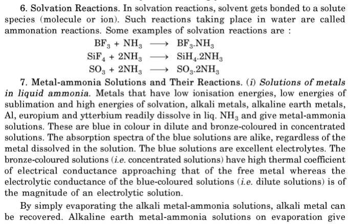 10 Solvation Reactions