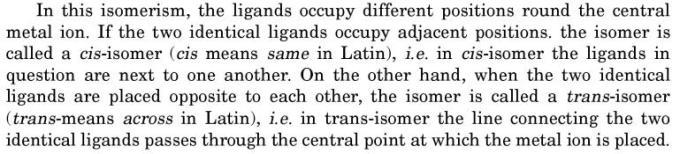 13 Geometrical Isomerism