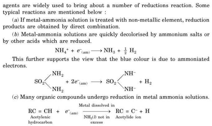14 Reducing Reactions