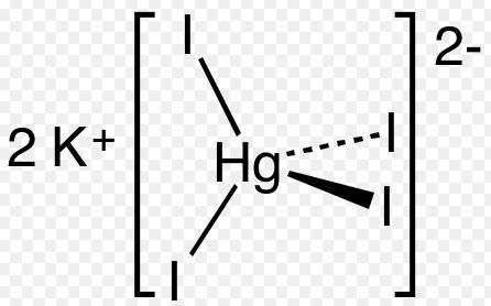 15 potassiumtetraiodomercurate