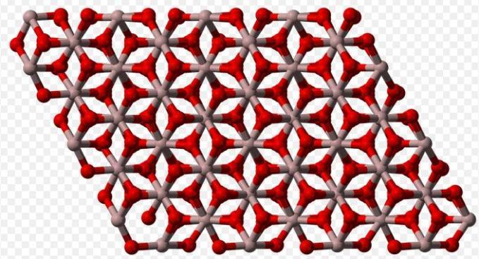 16 Aluminumoxide structure