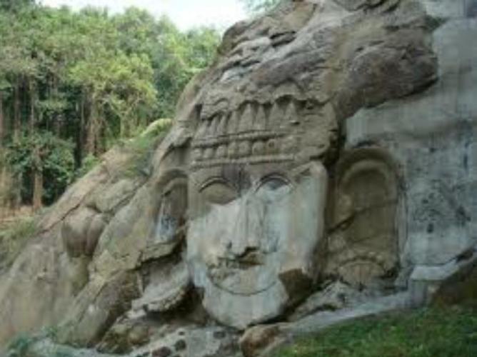 32u Tripura Monkey in hill