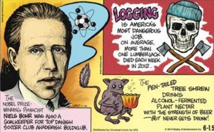 55a Niels Bohr was Goalkeeper