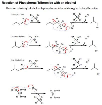 6 Reaction of PBr3
