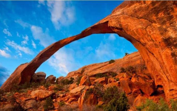 67a Landscape Arch, The Arches National Park, Utah