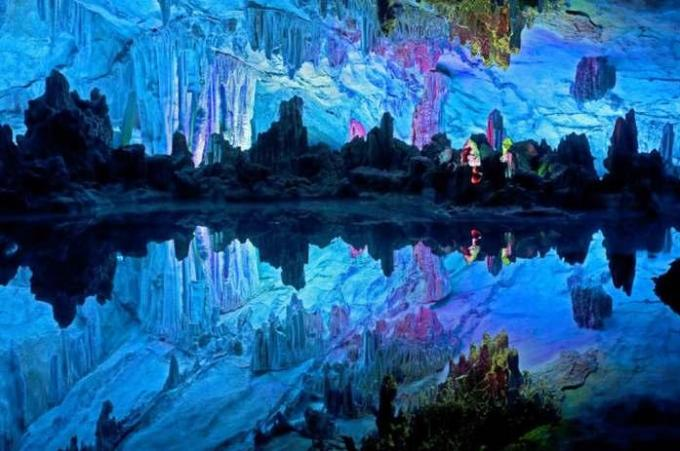 68a Reed Flute Cave, Guangxi Province, China