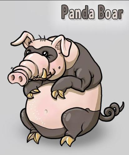 Panda boar