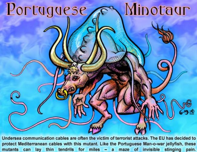 Portuguese Minotaur