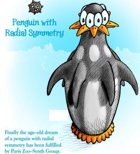Radially symmetric penguin