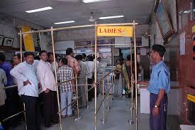 Separate queue for women