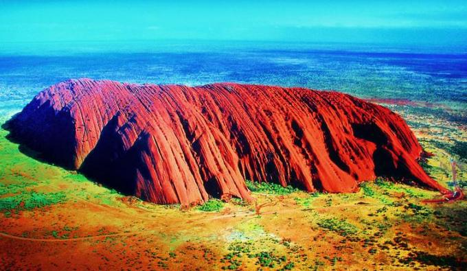 Red Pahad of Australia