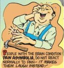 1 Pain asymbolia laugh in pain