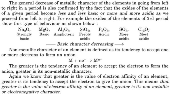 27 periodic trend in basic characters