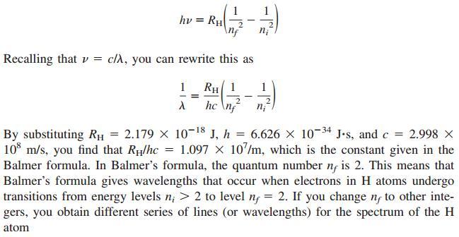 29 Energy of a photon