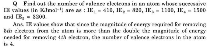 34 decreasing order of Ionization energy