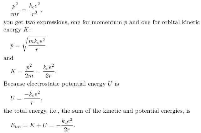 4 Bohrs derivations