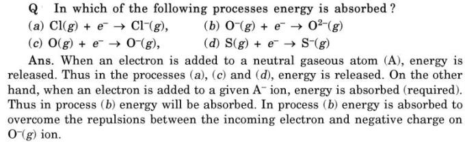 41 when energy is absorbed