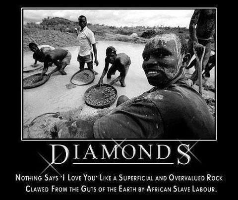 5 These guys are taking out diamonds for fools