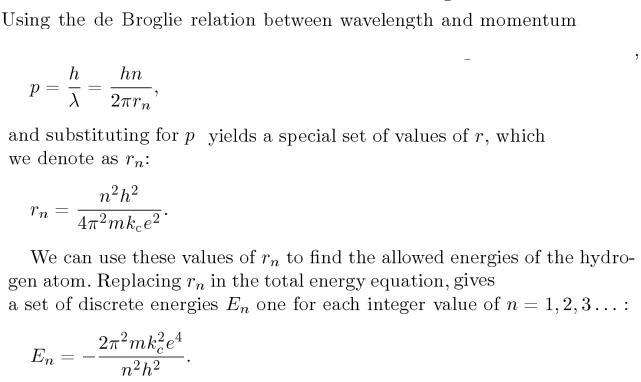 6 Bohrs derivations