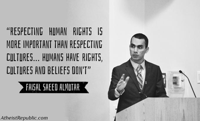 1 Respect humans than cultures