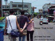 1 never trust a girl