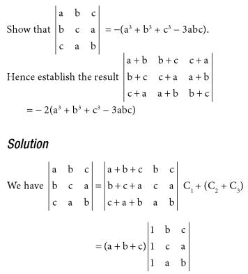 1 Determinant Expansion