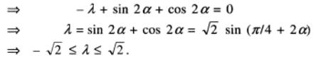 16 lambda alpha real determinant