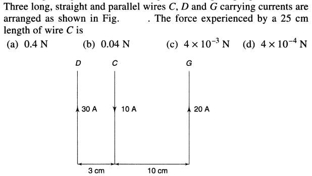 17 long straight parallel wires SKMClasses