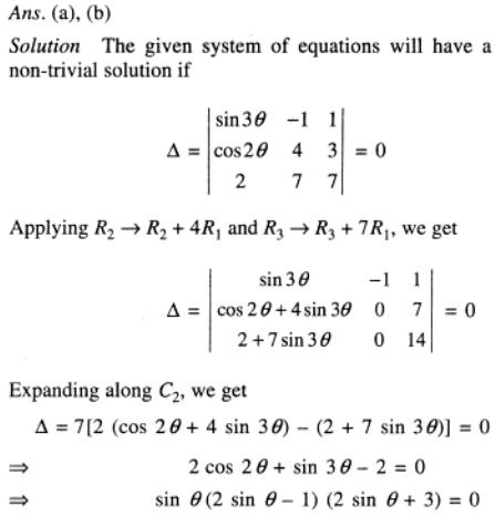 18 system of linear equations