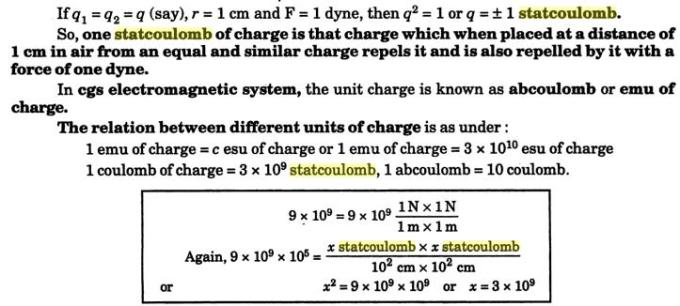 30b Statcoulomb abcoulomb