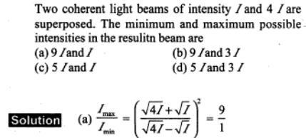 49 maximum and minimum intensity 9 by 1