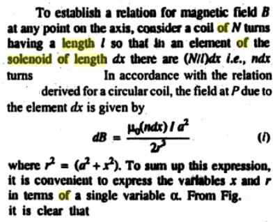 55c Solenoid of finite length cos