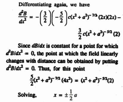 55o Solenoid of finite length cos