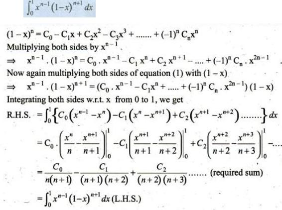 71 B Integration of Binomial expansions