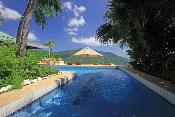 77 Swimming Pool blue