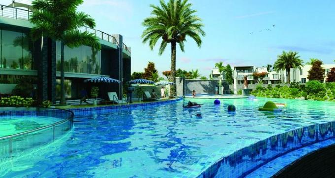 87 Swimming Pool blue
