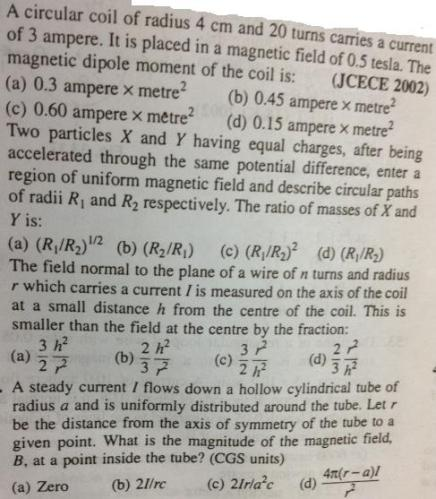 99 random electromagnetism