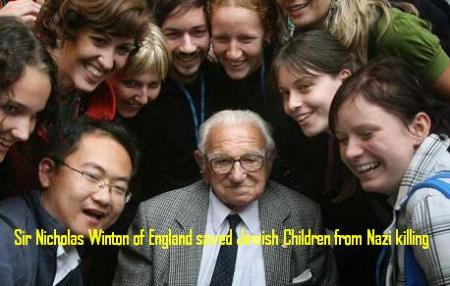 Nicholas Winton saved Jewish Children