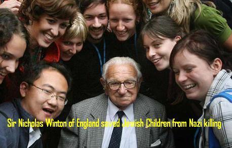 Nicholas Winton saved Jewish Children