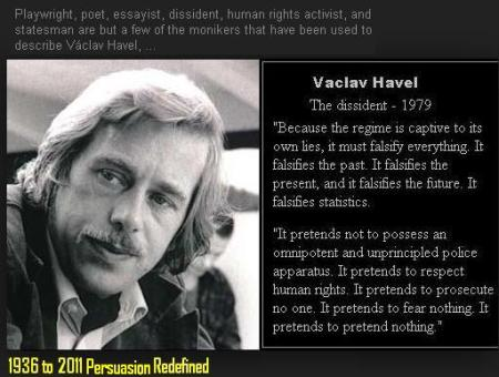 Vaclav Havel Persuasion Redefined