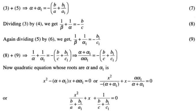 109 Quadratic Equations