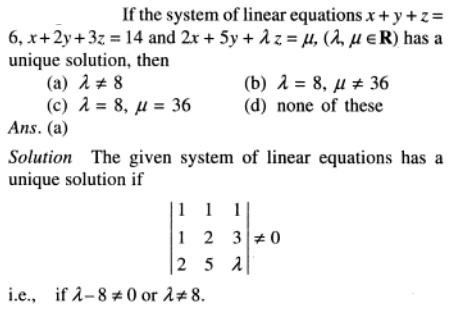 111 system of linear equations