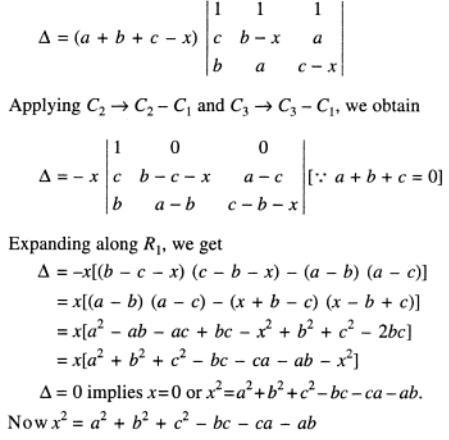 114 a plus b plus c is zero